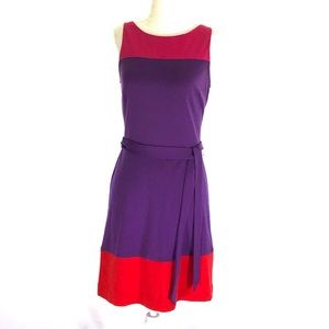 Sz2 Elle Color Block Dress